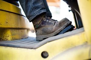 Wearing Safety Footwear