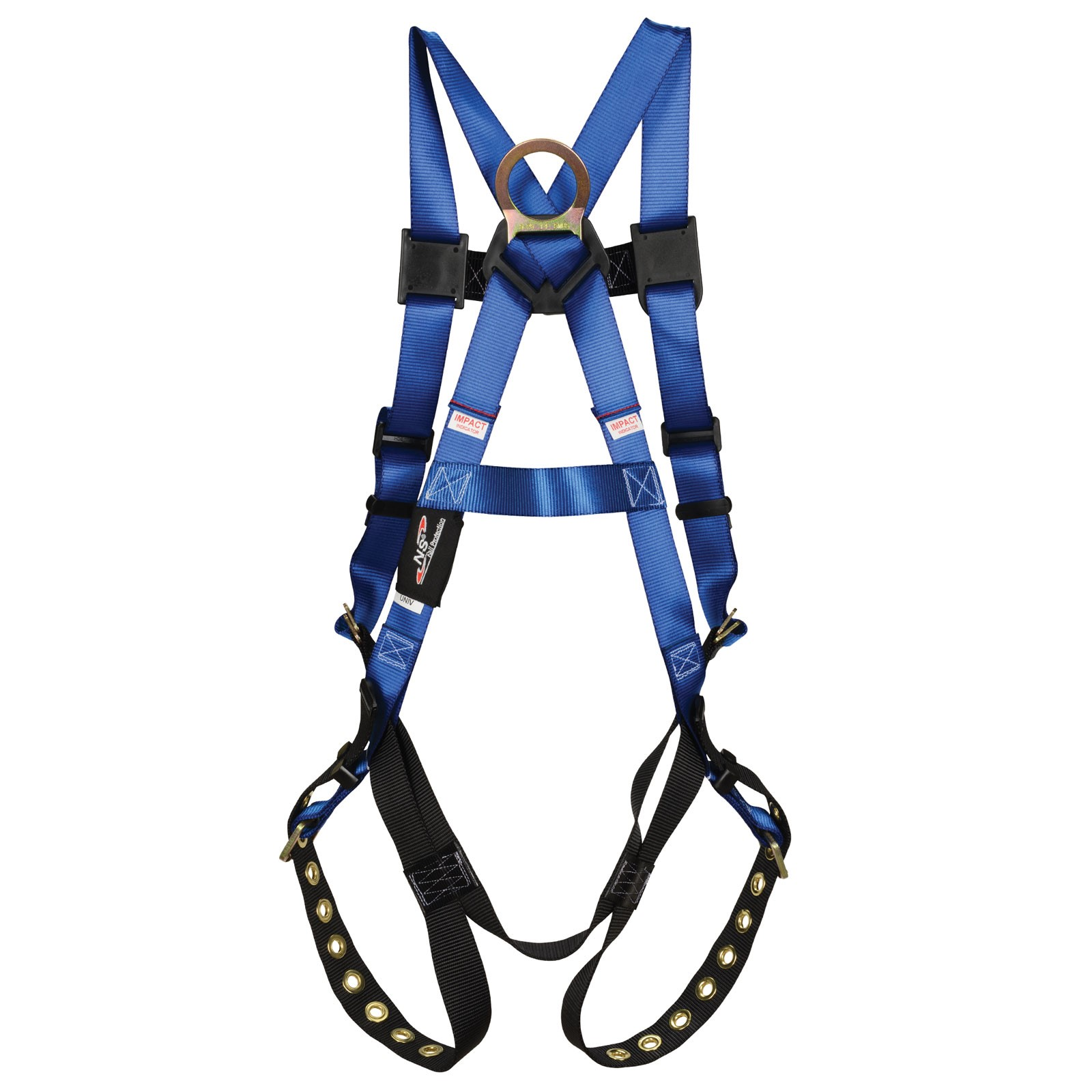 NS Highlander Back D-Ring Tongue Buckle Leg Straps Fall Protection