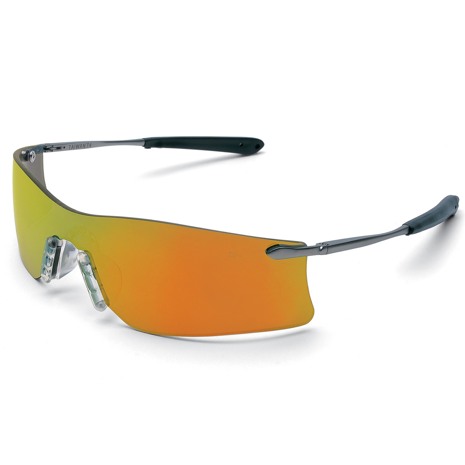 Crews Glasses Rubicon Fire Mirrored Anti-Scratch Lens Safety