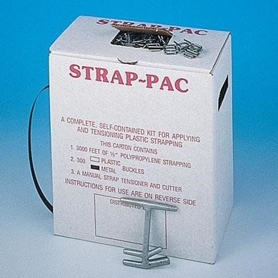 Pack of 1000 by PAC Strapping Products For 1//2 Width Strap, PAC Strapping S-40 Plastic Strapping Open Seal