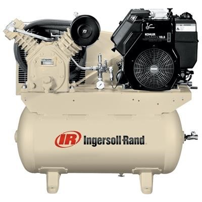 Ingersoll-Rand® 12 5 HP Two-Stage Gas Compressor with Kohler