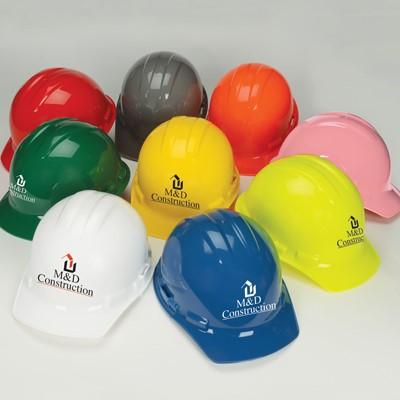 NSI Power Shell® II 4-Point Ratchet Suspension Cap Hard Hat