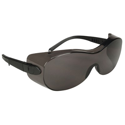 e8cdf307e0 NSI N-Specs® Low Profile OTG Gray Lens Over-the-Glass Safety Glasses ...