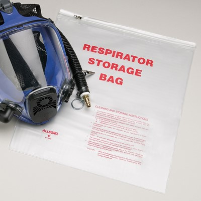 Reusable Respirator Storage Bag ... & Allegro® Reusable Respirator Storage Bag - 7019 - Northern Safety Co ...