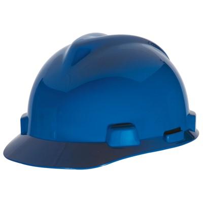 MSA V-Gard® Large 4-Point Pinlock Suspension Cap Hard Hat