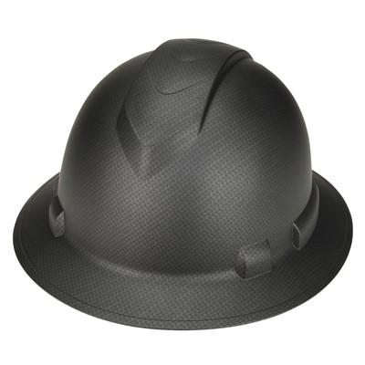 Pyramex™ Ridgeline® Graphite Pattern Ratchet Suspension Full Brim Hard Hat c134f1695894