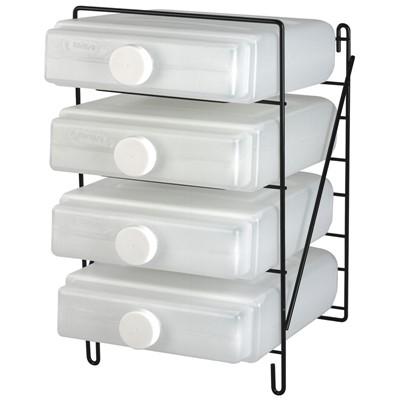 Fendall Flash Flood Emergency Eye Wash Station 4-Cartridge Storage Rack