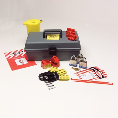 standard lockout tagout safety kit - Lock Out Tag Out Kits