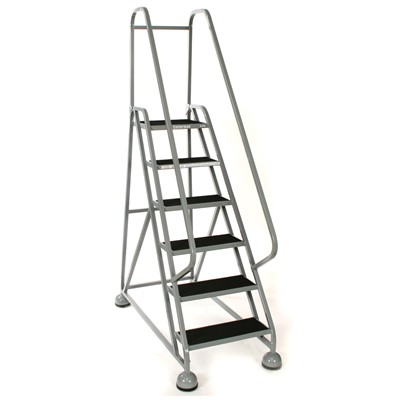 Fabulous Cotterman Masterstep 6 Step 54 Rolling Stepladder 8935 Spiritservingveterans Wood Chair Design Ideas Spiritservingveteransorg