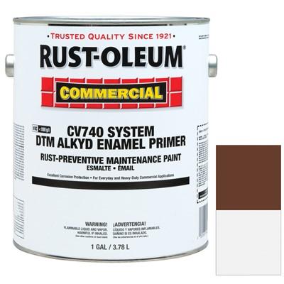 Rust Oleum Hard Hat Primer.Rust Oleum Cv740 System 1 Gallon 100 Voc Dtm Alkyd Enamel Primer