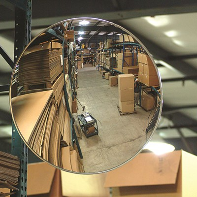 Se Kure Domes And Mirrors Inc 18 Indoor Glass Convex Mirror With Z