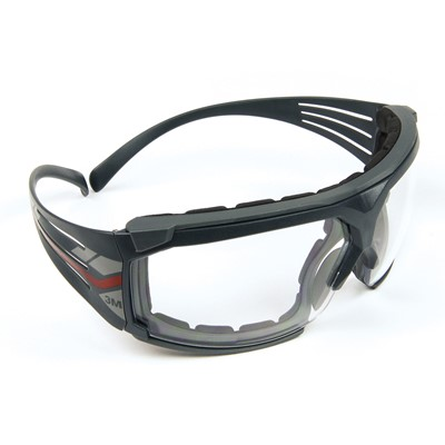 99fc364a3f6 SecureFit™ 600 Clear Scotchgard™ Anti-Fog Lens   Foam Gasket Safety Glasses  ...
