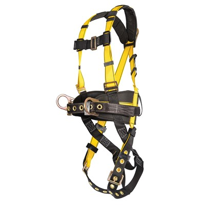 294170 msa workman® construction fall protection harness with side back d