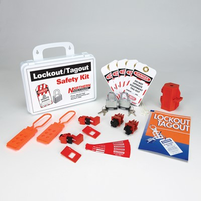 economical electrical lockout tagout safety kit - Lock Out Tag Out Kits