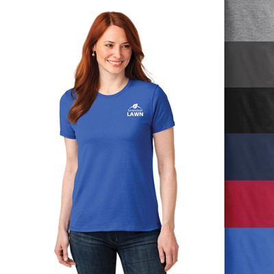 Port   Company® Women s Color  50 50 Cotton Poly T-Shirts 26d7611af