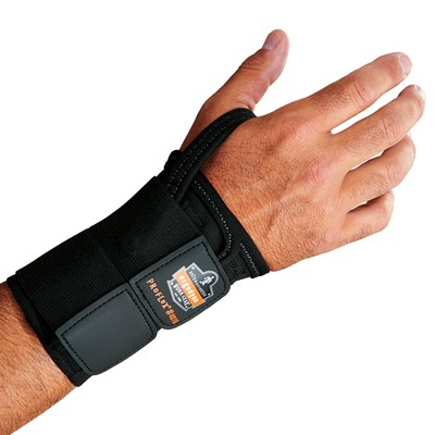 PROFLEX BY ERGODYNE 4010 Wrist Support XL Left Tan