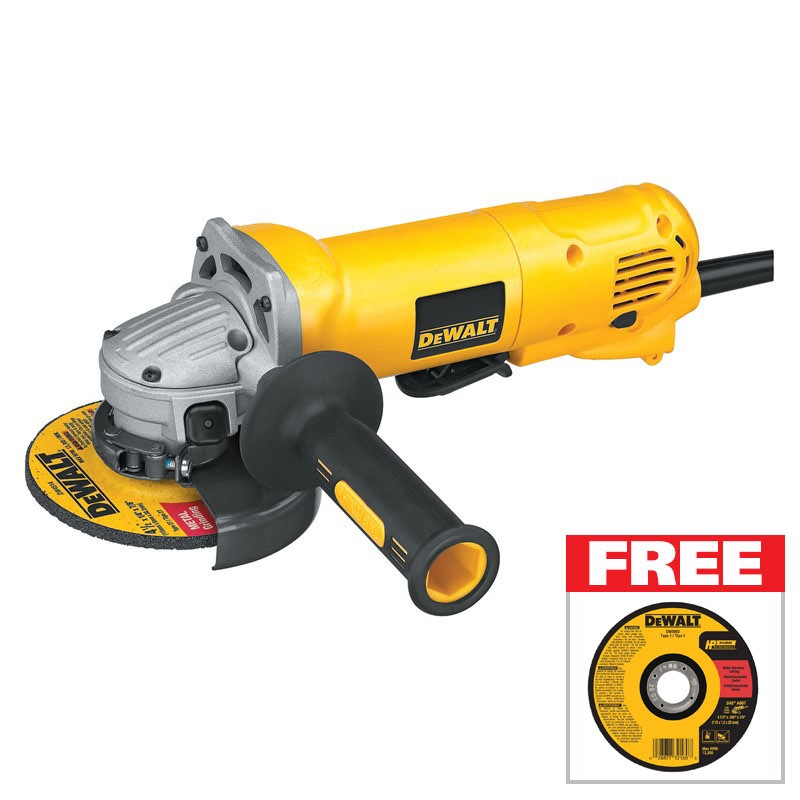 FREE Abrasive Disc with purchase of a DeWalt Grinder
