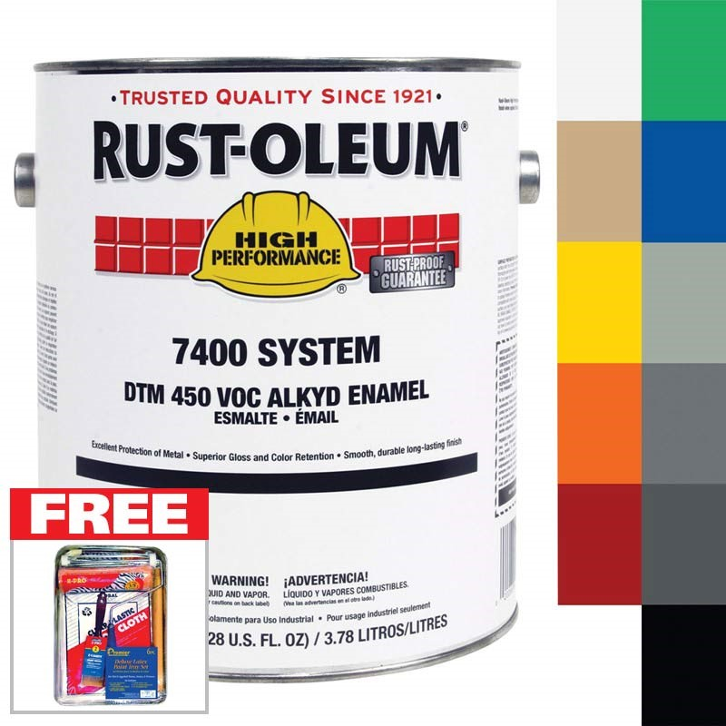 FREE Paint Kit with purchase of Rustoleum Gallon paint
