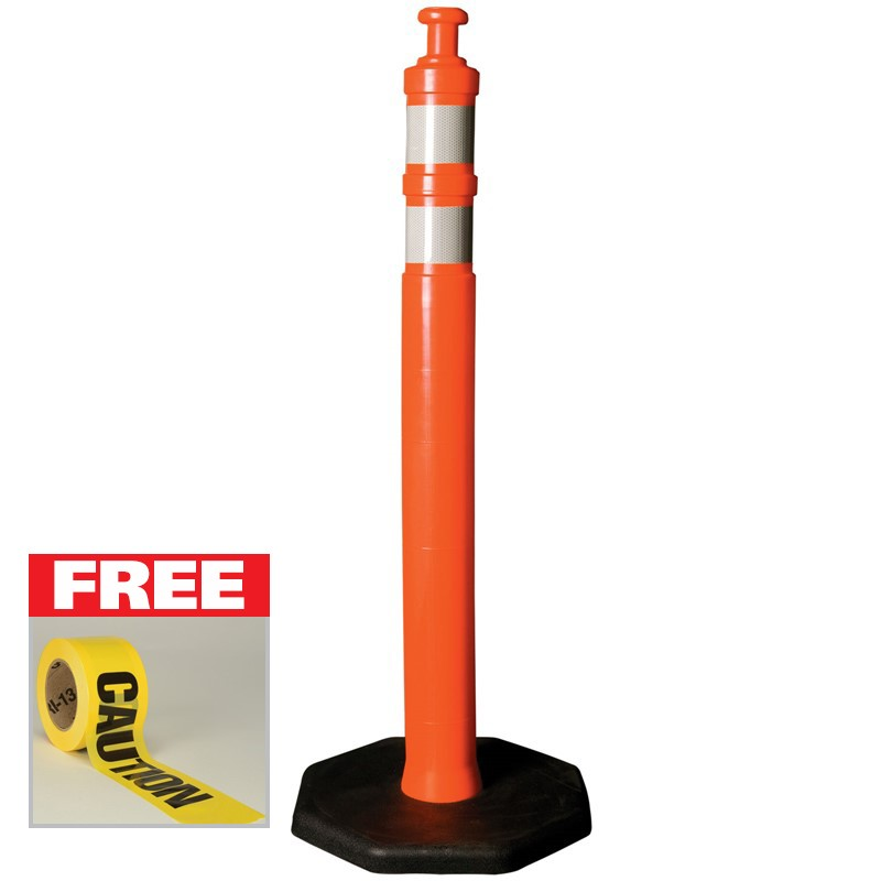 FREE Caution Tape with purchase of two Delineators