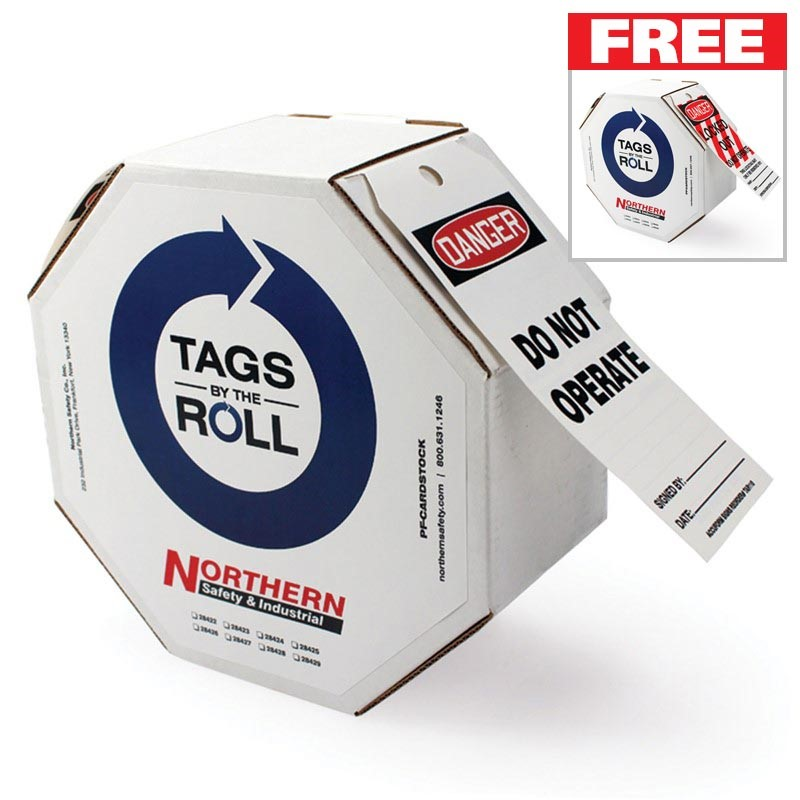 FREE box of Tags-By-The-Roll with purchase of a box of Tags-By-The-Roll