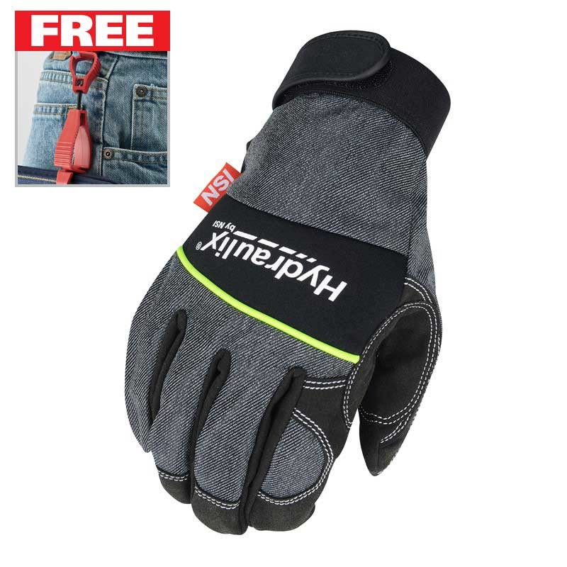 FREE Glove Clip with purchase of a of Hydraulix Gloves
